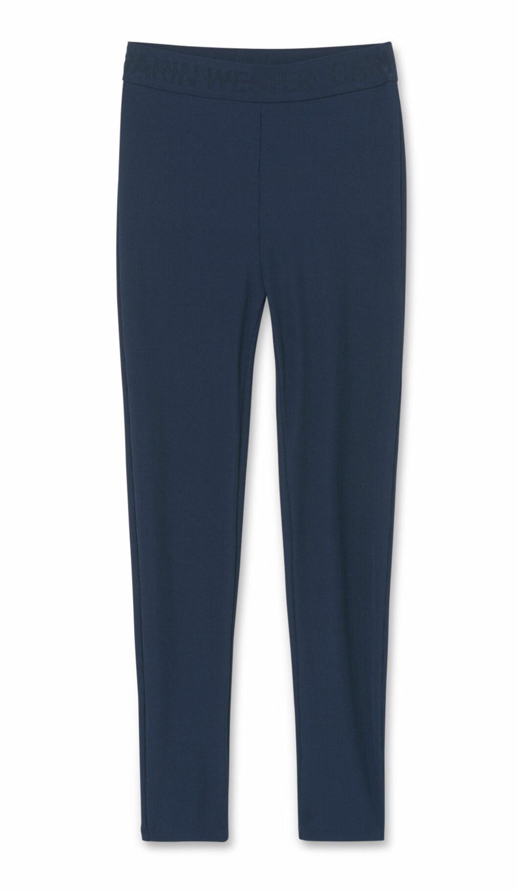 Blå leggings dam