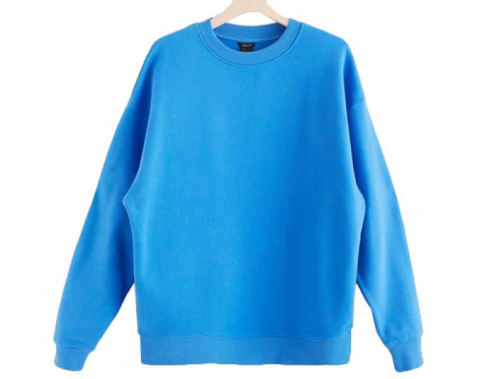 Blå oversize-sweatshirt från Lindex