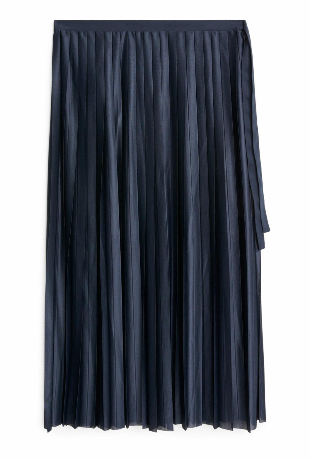 Plisserad kjol till hösten 2018