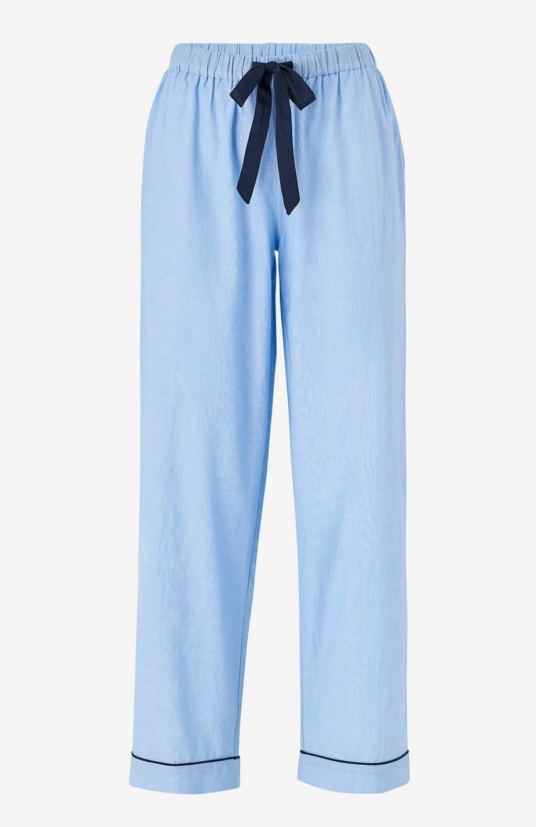 Blå pyjamasbyxor för dam till 2019