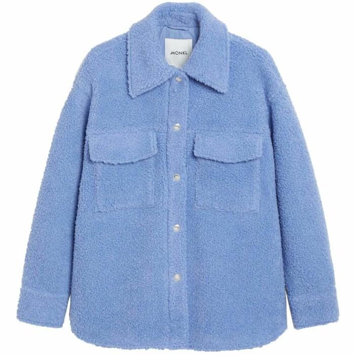 blå skjortjacka teddy monki