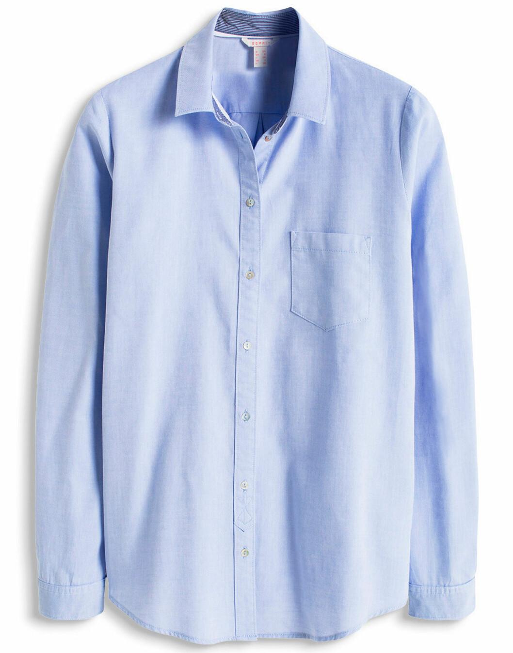blå skjorta våren 2016