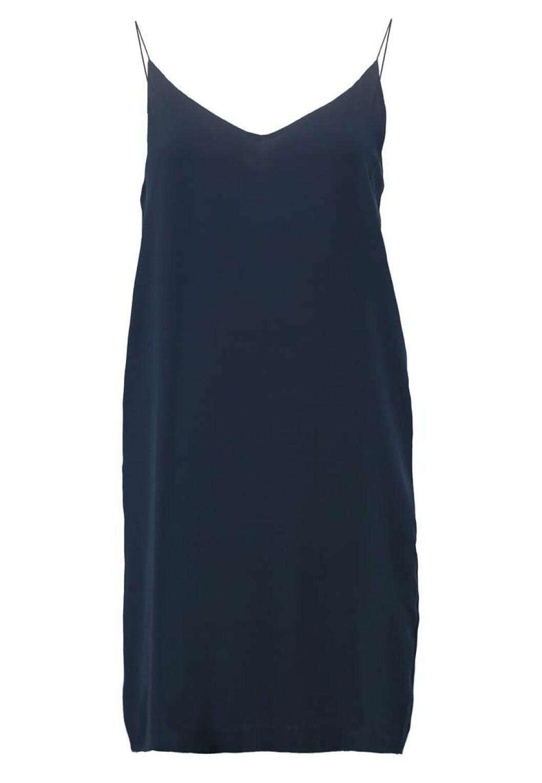 blå slipklänning