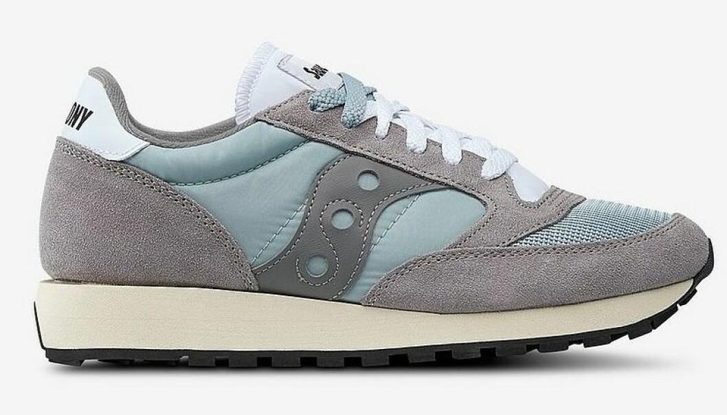 Blå sneakers till dam från Saucony till våren 2019