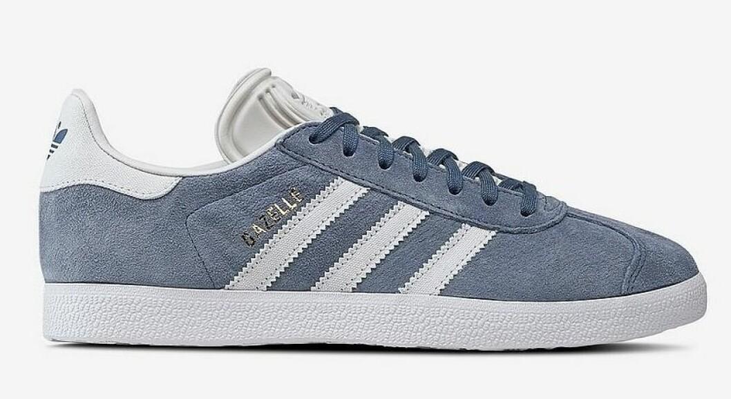 Blå sneakers i mocka till dam från Adidas Originals till våren 2019
