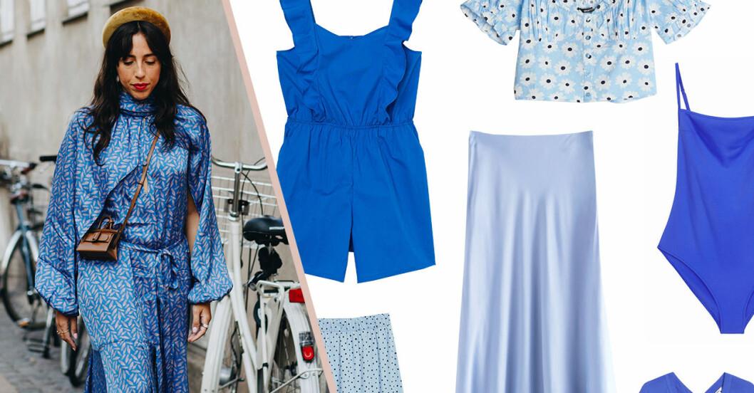Blå sommarplagg för dam till 2020 – klänningar, kjolar, blusar