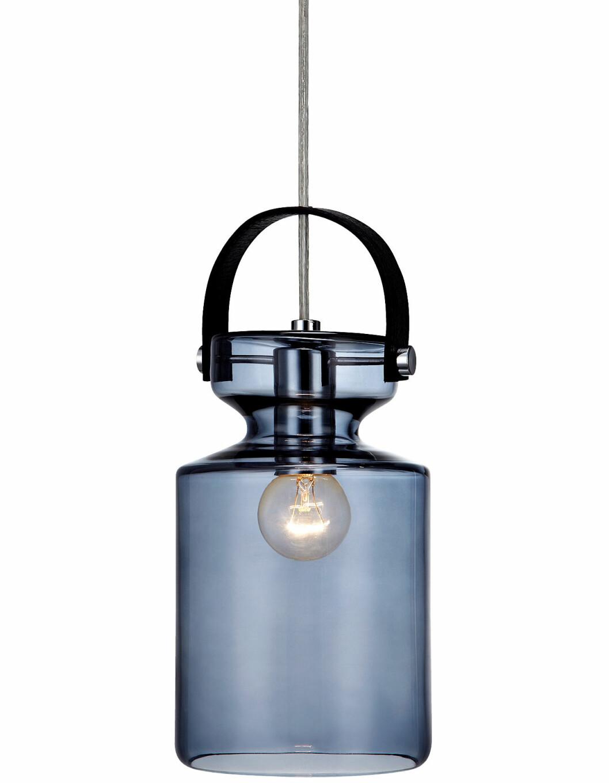 blå taklampa