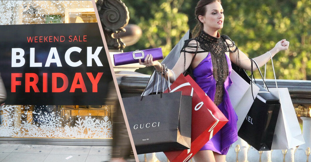 Black friday 2018 Sverige butiker med rea