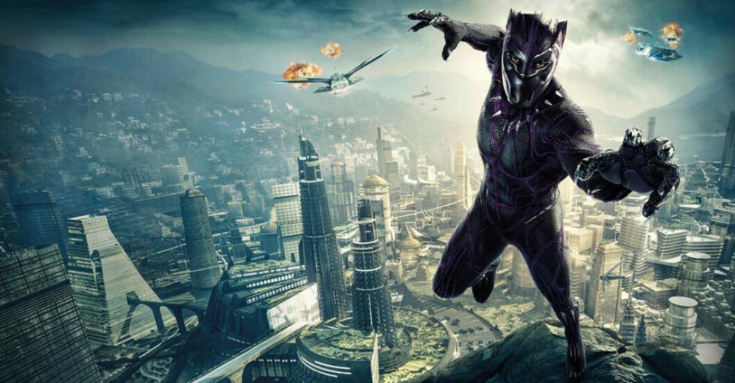 Chadwick Boseman som Black Panther