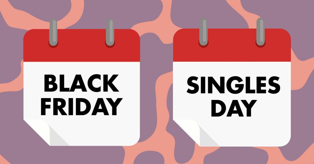 Det är förklaringen bakom readagarna black friday, cyber monday och singles day.