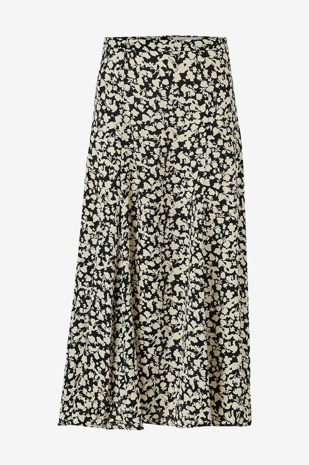 Mönstrad kjol i midilängd för dam till 2020