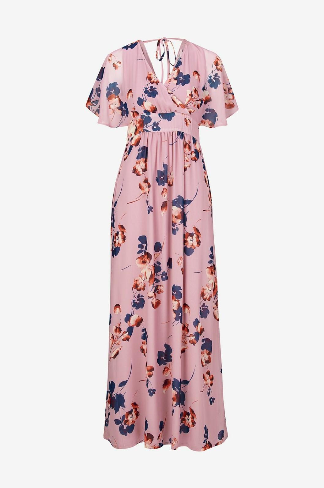 Blommig långklänning för dam till bröllop 2019