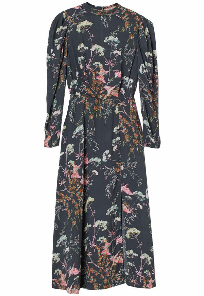 Klänning med blommönster från H&M