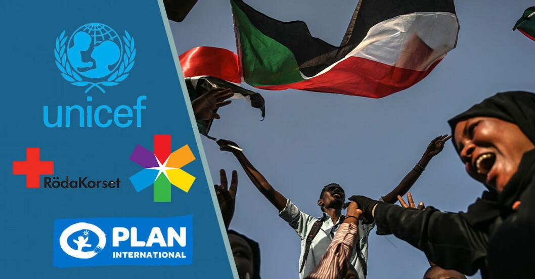 Blue for Sudan, här är välgörenhetsorganisationerna som hjälper Sudan.