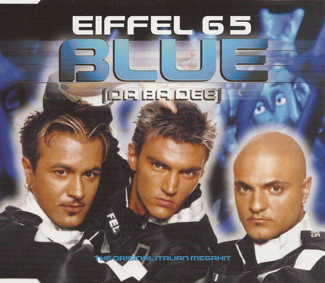 Singeln Blue av Eiffel 65.