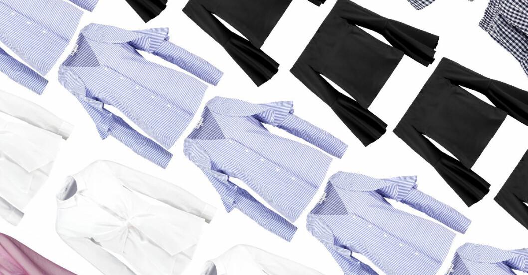 blusar skjortor våren 2017