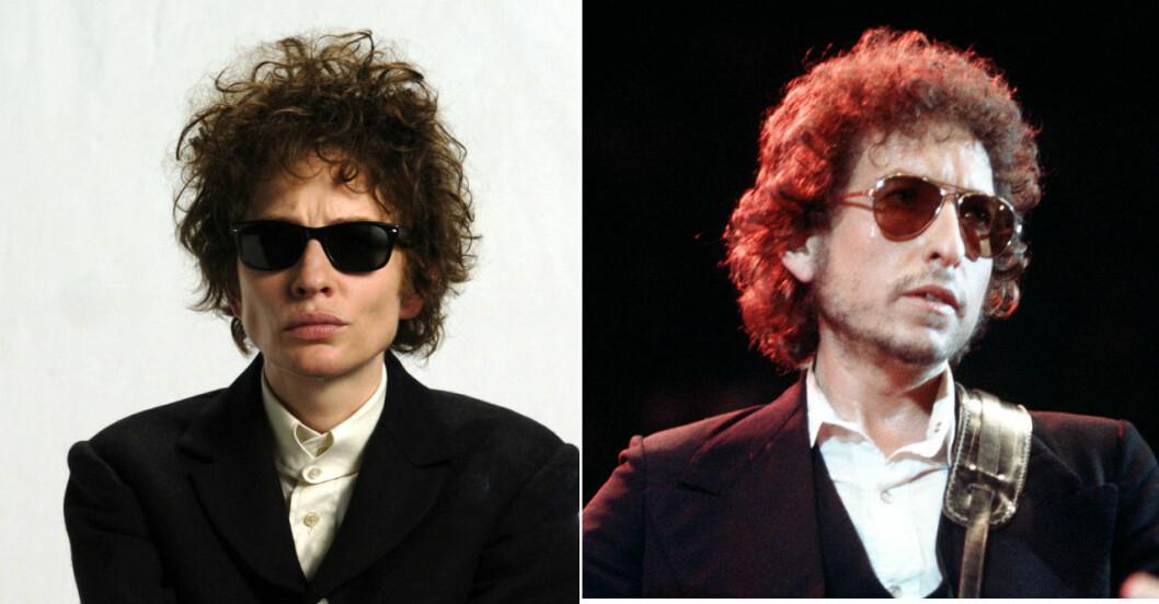 Cate Blanchett som Bob Dylan.