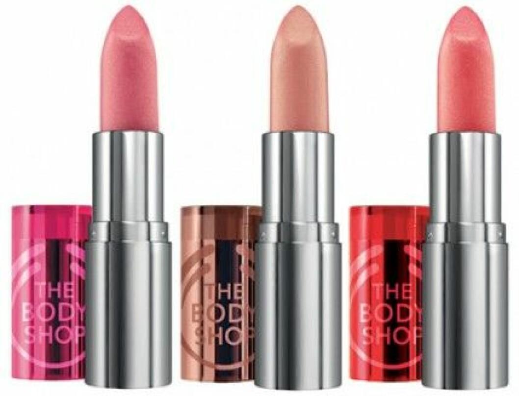 The Body Shop Colour Crush Lipsticks, 165 kr/st.