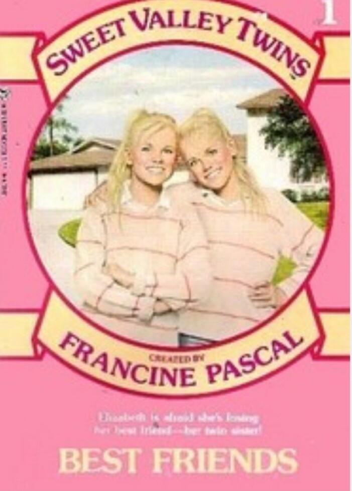 rosa bok om tvillingarna i sweet valley high