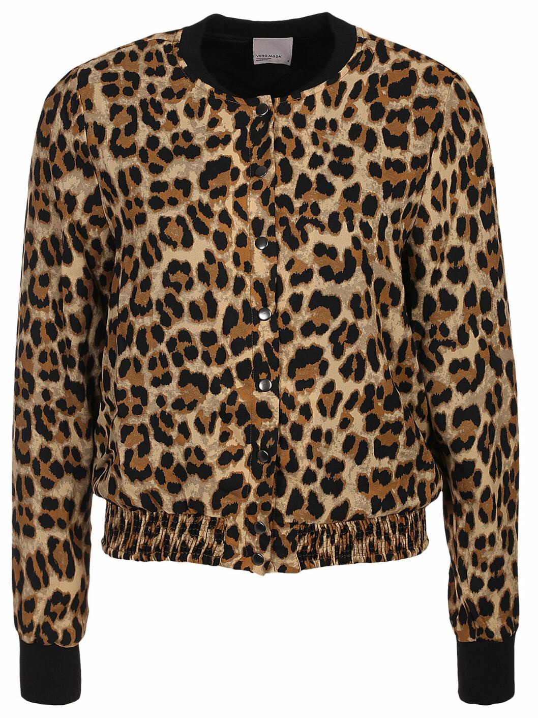 bomberjacka i leopard
