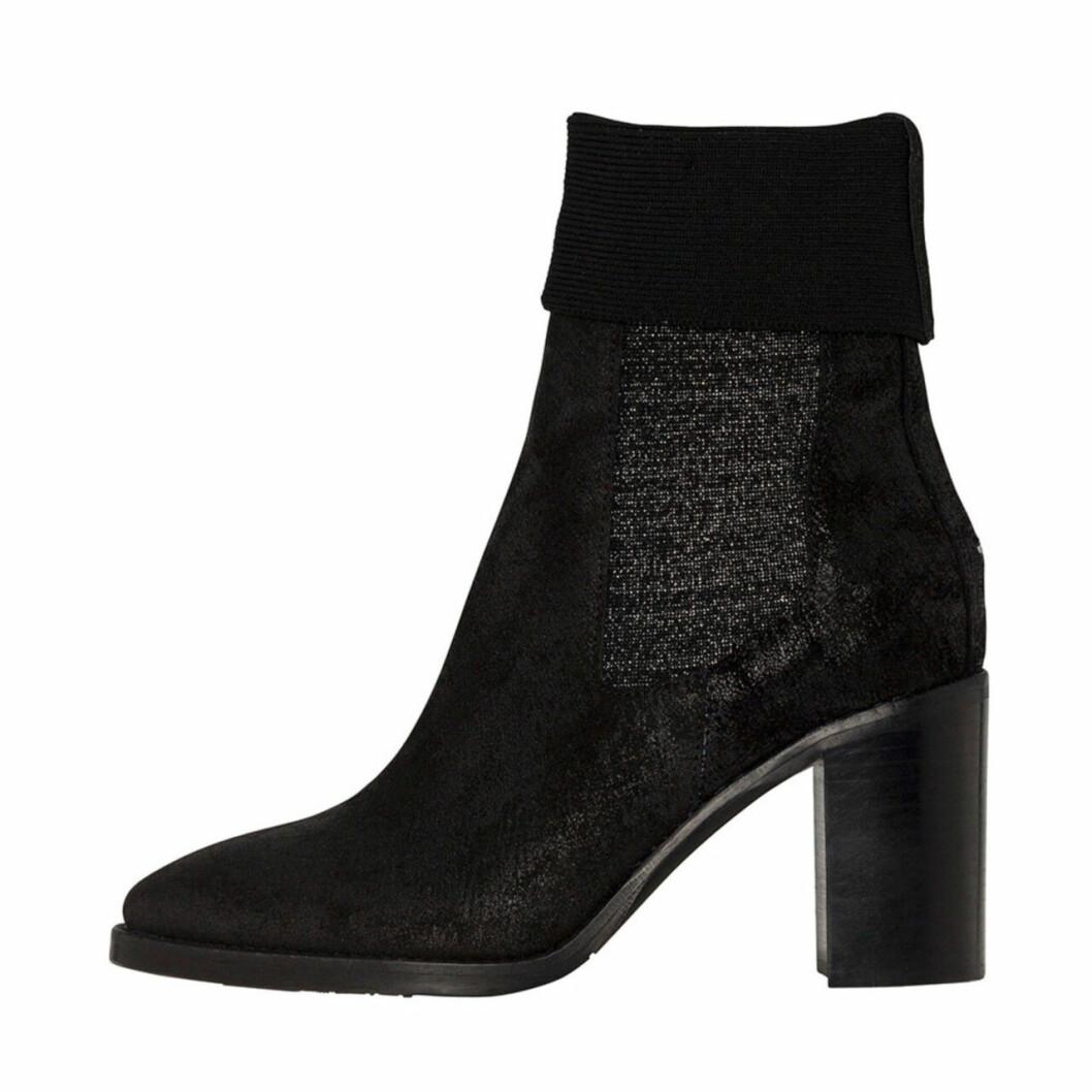 Svarta boots för dam till hösten 2019 hög klack
