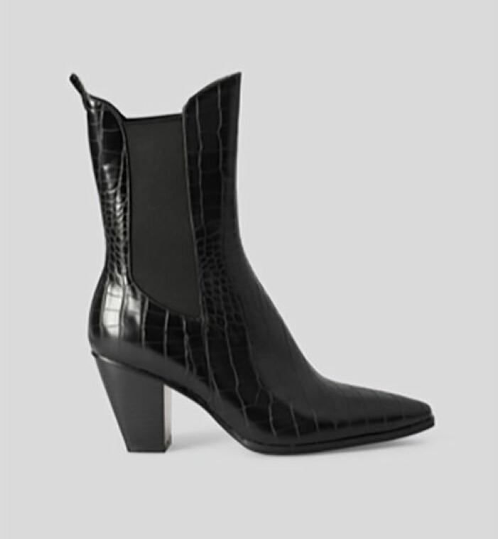 Boots med spetsig tå, NA-KD