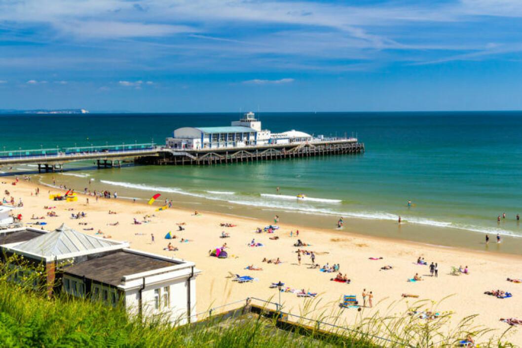 Strandtips: Bournemouth Beach, Storbritannien