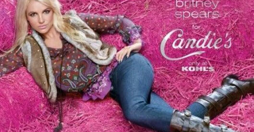Britney Spears för Candie's hösten 2009.