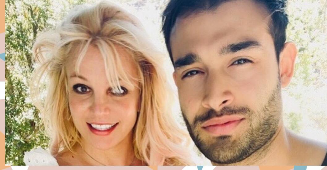 Britney Spears ord till pojkvännen Sam