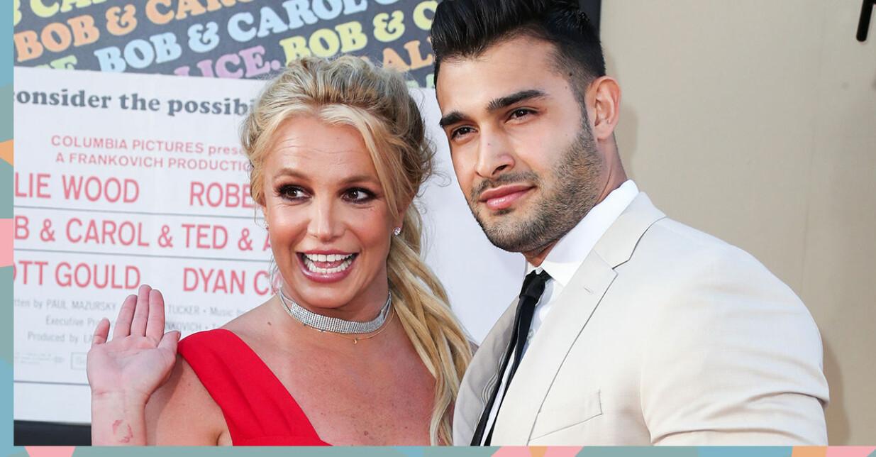 Britney Spears är förlovad med Sam Asghari.