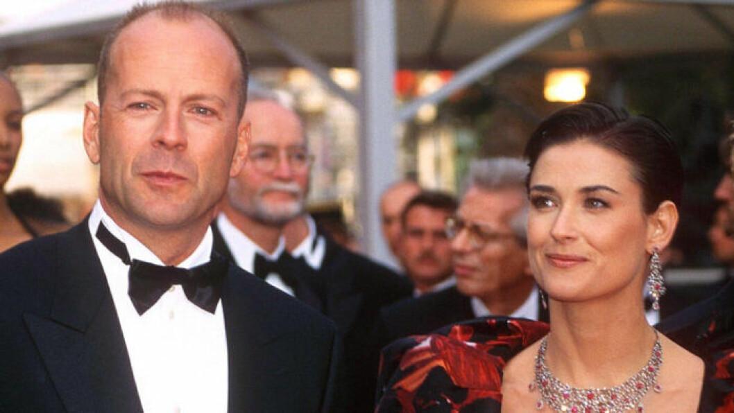 Bruce Willis och Demi Moore