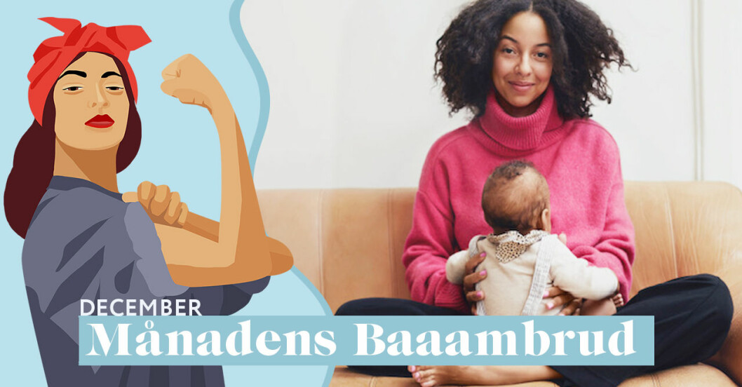 Asabea Britton är Baaambrud i december 2018