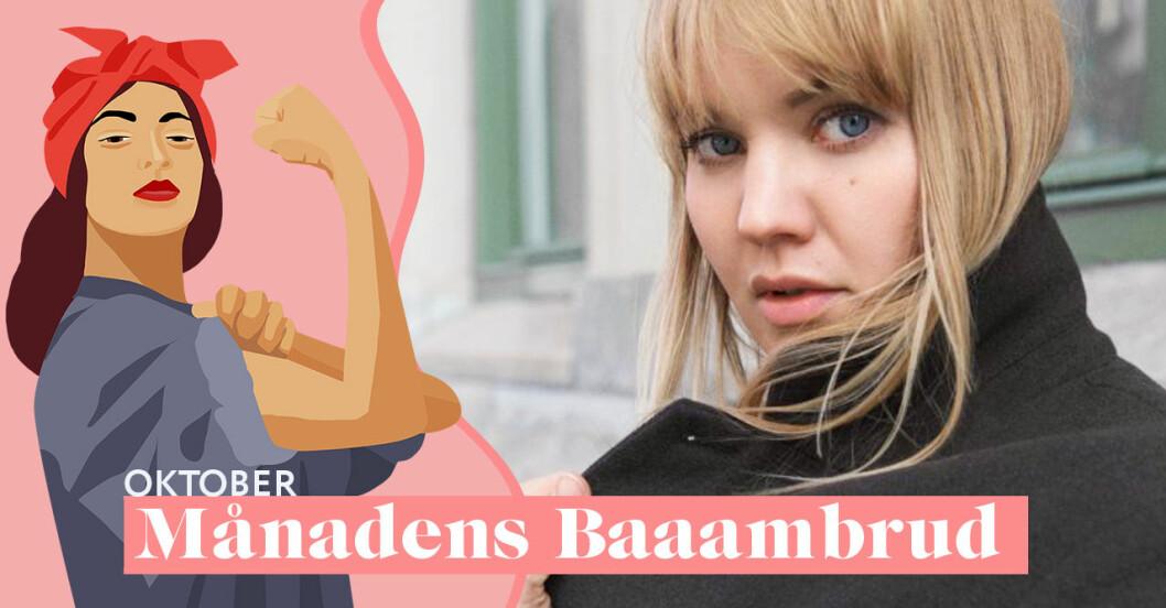 Emma Frans är månadens Baaambrud i oktober 2019