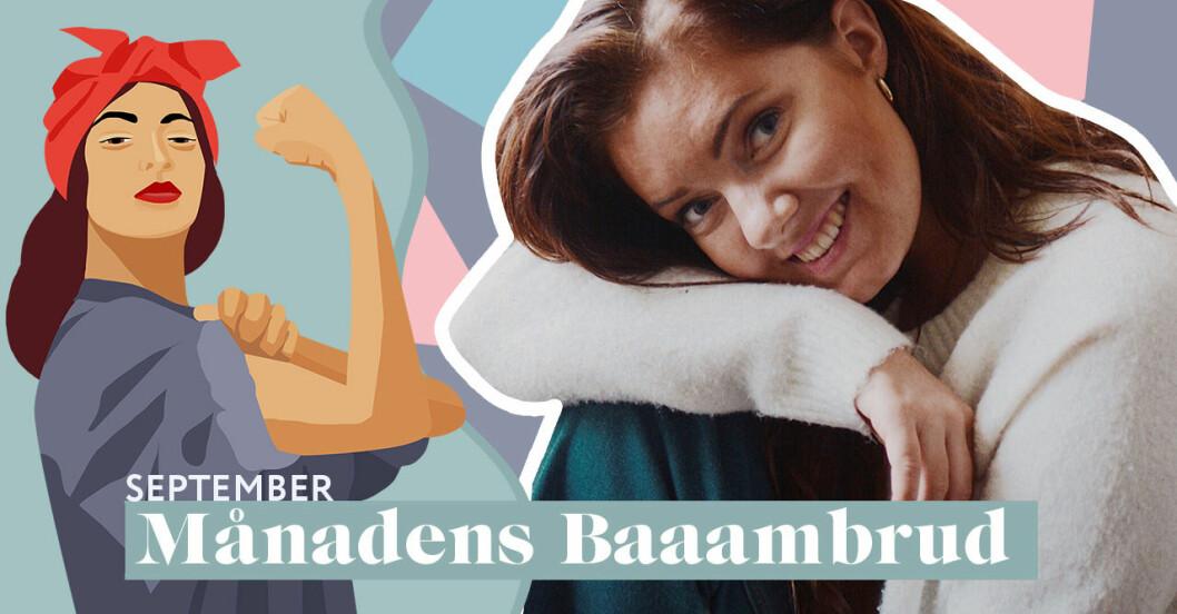 Amanda Ekström bakom Instagramkontot Tuggmotstånd.