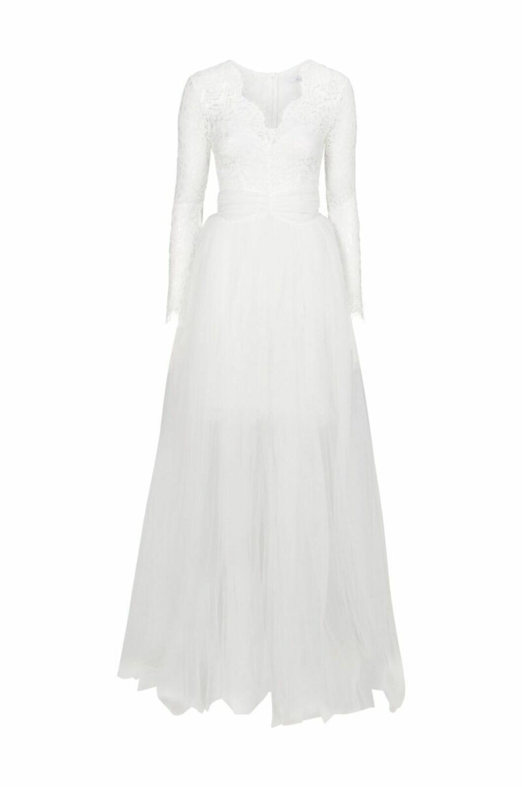 Spetsklänning brudklänning