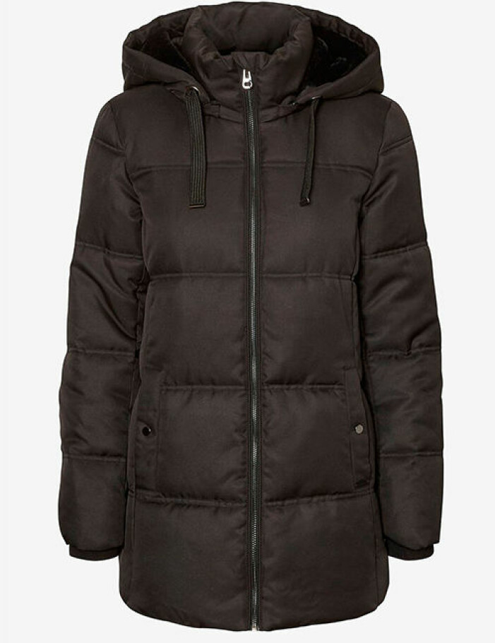 brun jacka vero moda