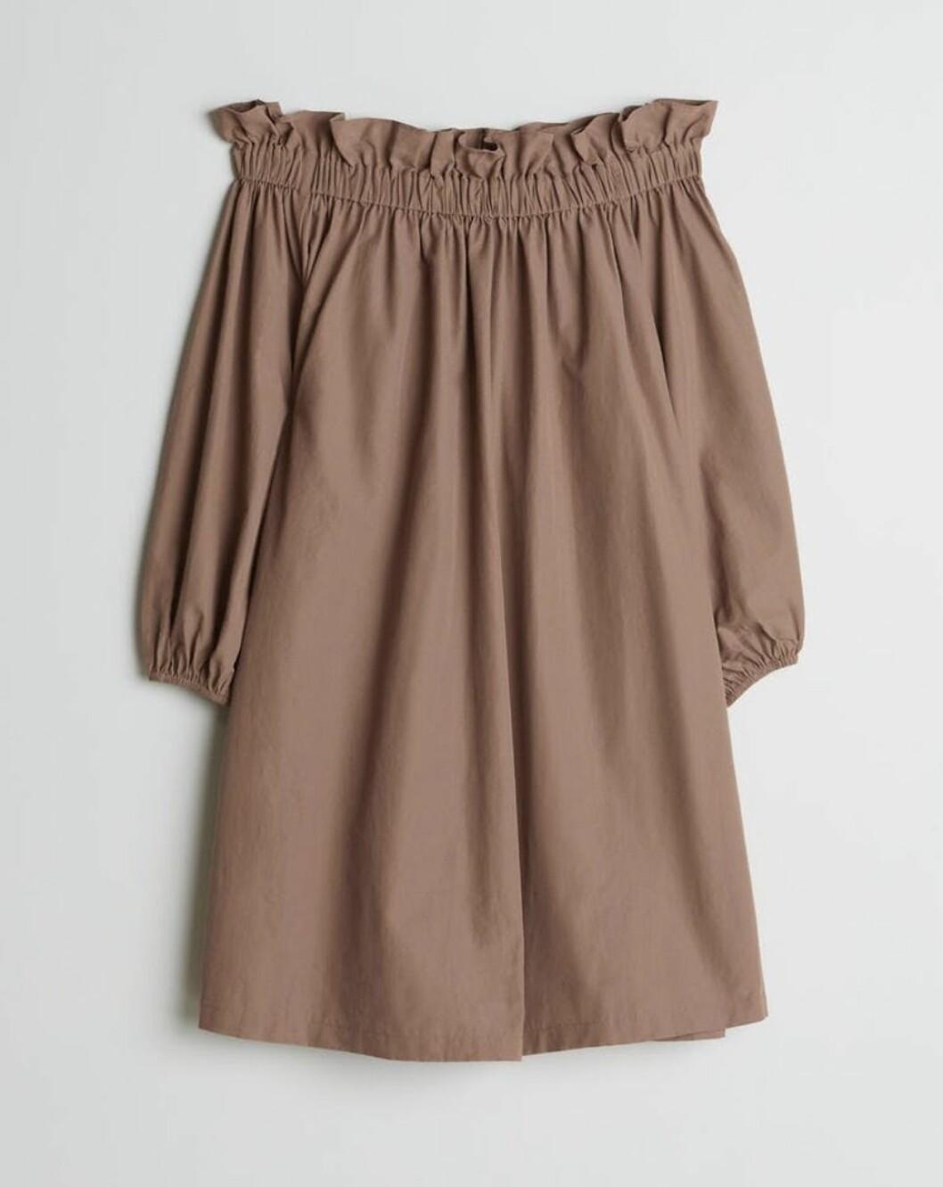 Brun strandklänning för dam till 2020