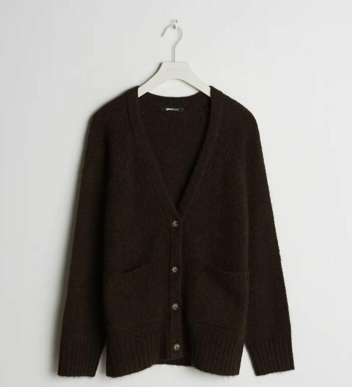 brun kofta gina tricot