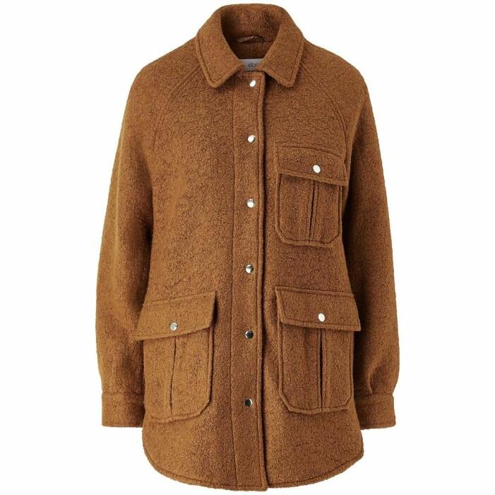 brun skjortjacka