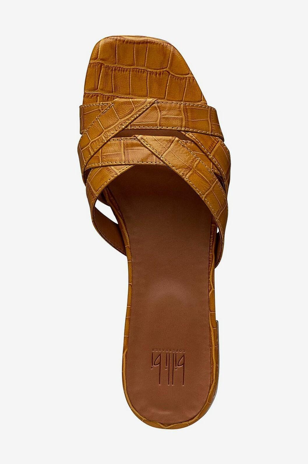 Bruna sandaler för dam till sommaren 2019