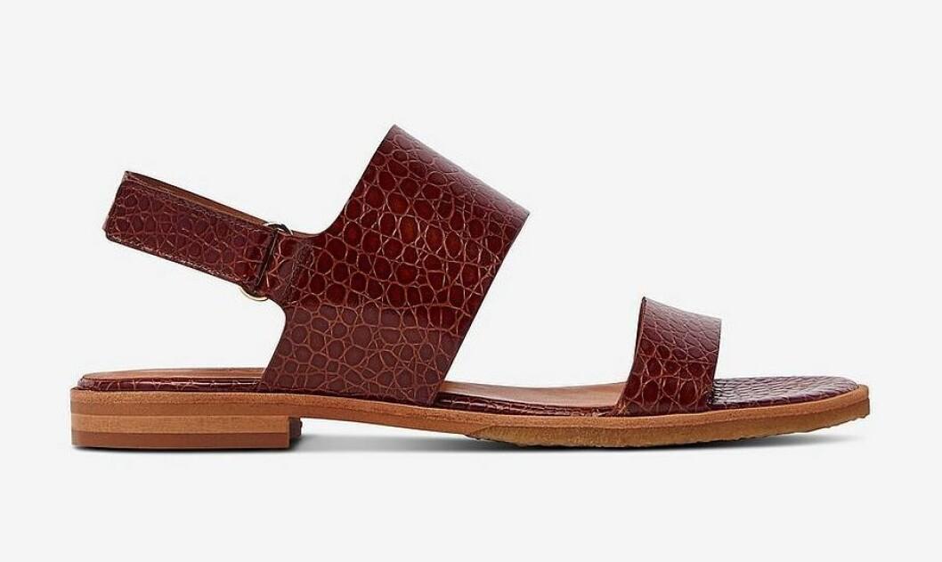 Bruna sandaler för dam till sommaren 2020