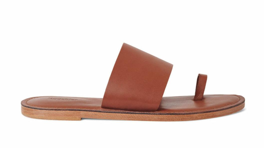 Bruna sandaler för dam från Rodebjer till sommaren 2020