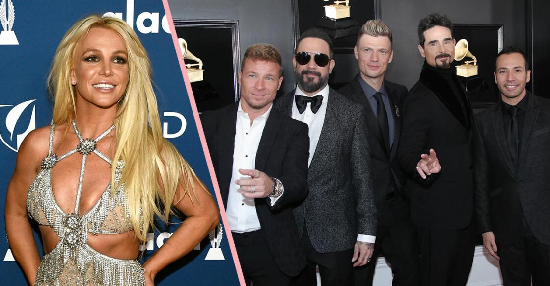 Britney Spears och Backstreet boys samarbetar på nya låten Matches