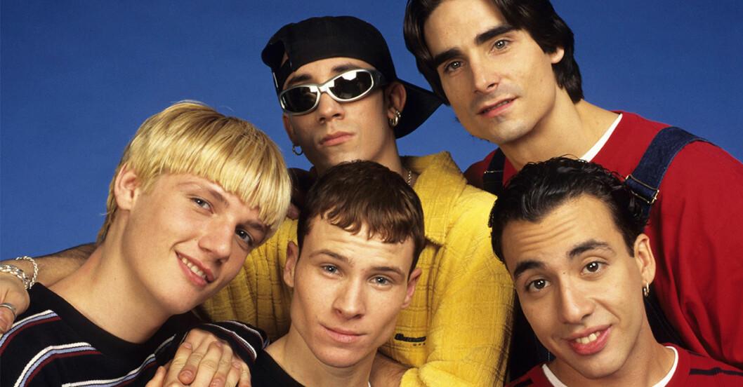 Backstreet boys åker på turné och spelar i Sverige.