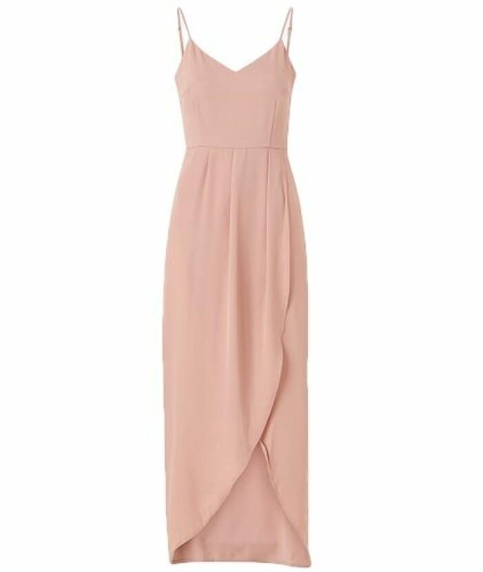 Rosa billig balklänning