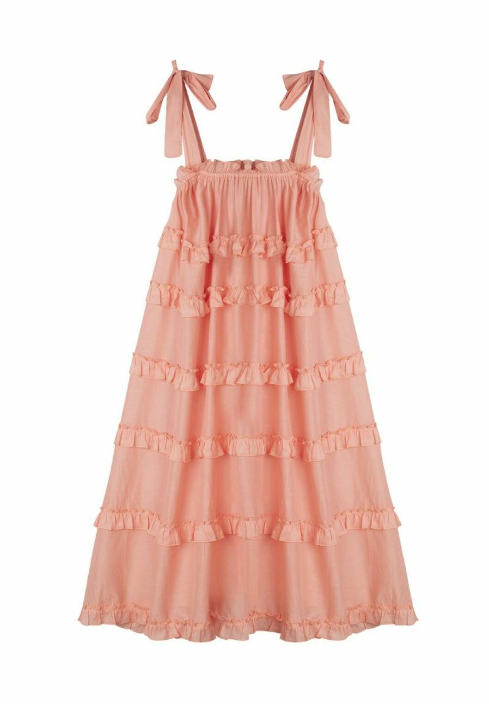 By Malinas resortkollektion 2020: Persikorosa klänning