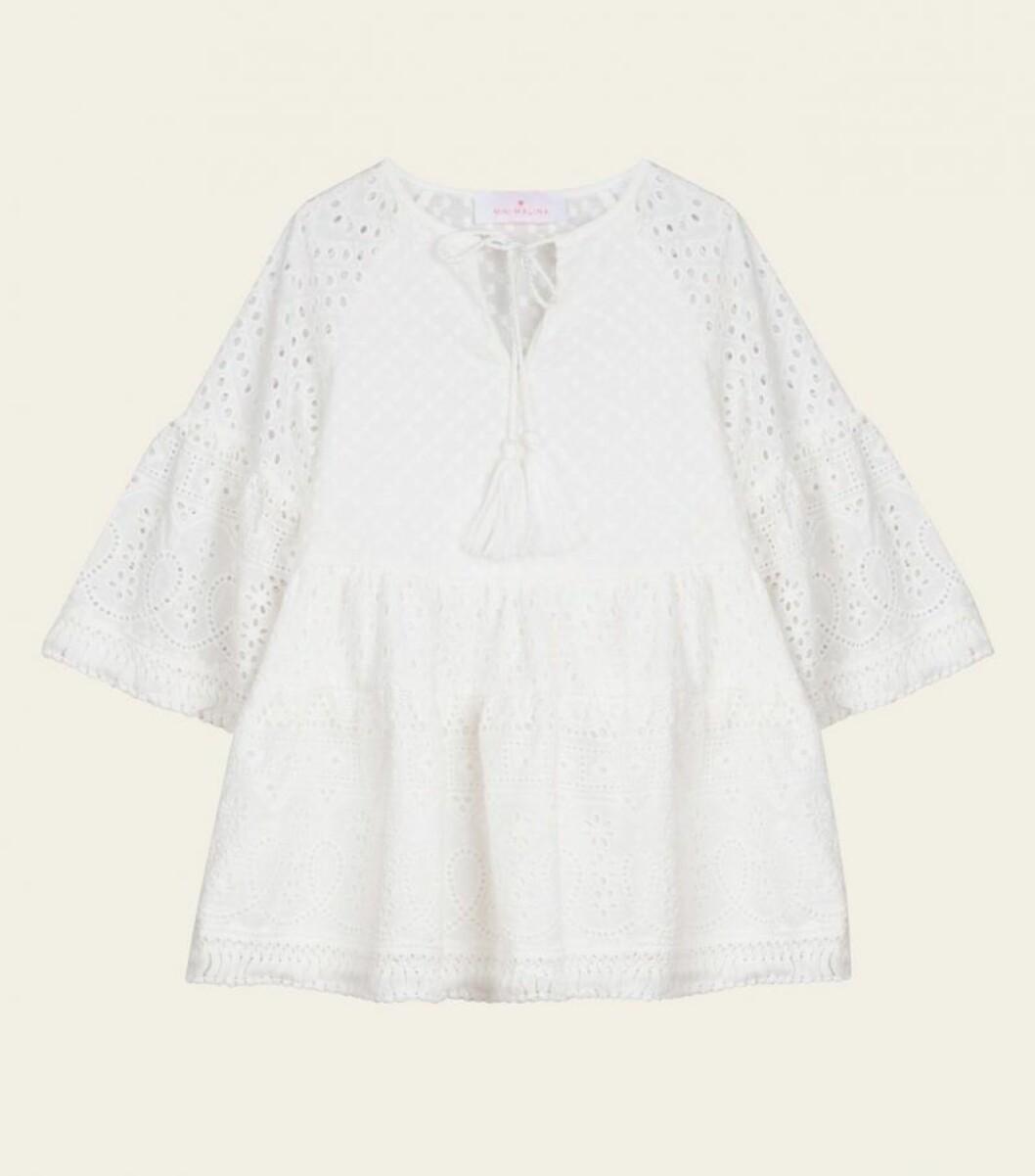 Mini Malina collection 2020: Vit klänning för barn