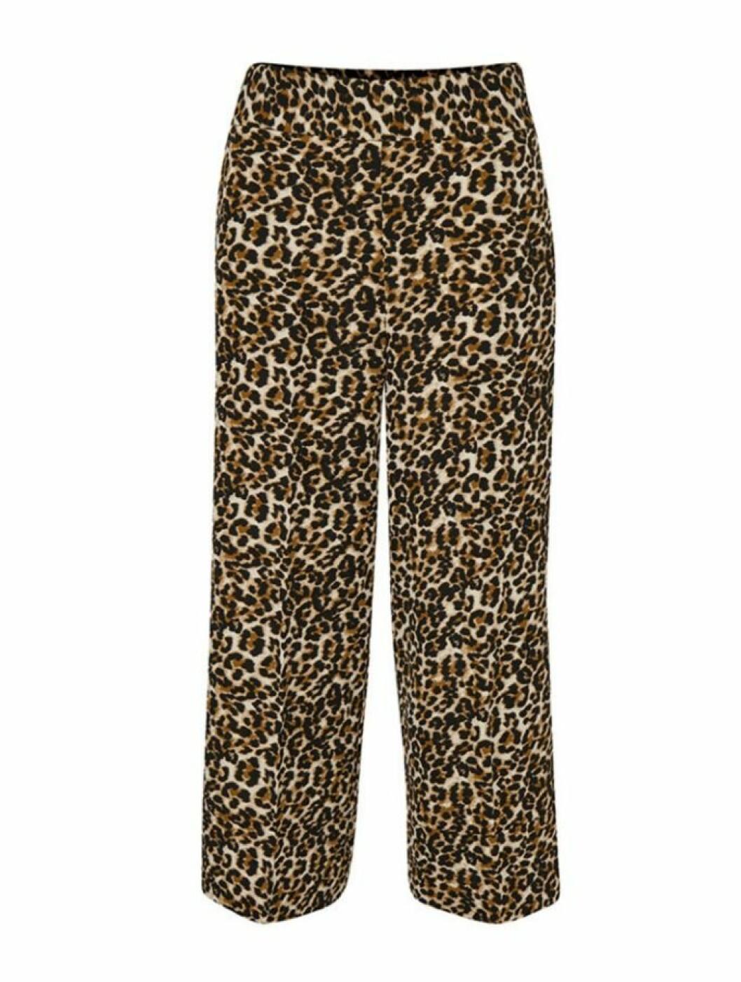 Leopardmönstrade byxor till hösten 2018