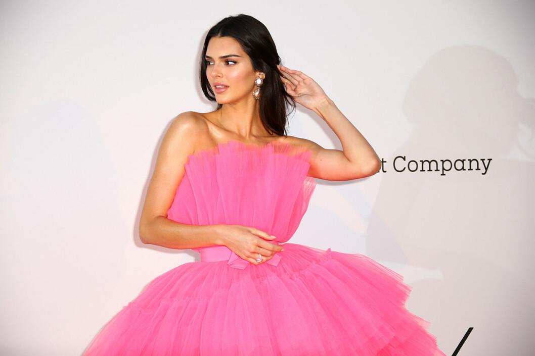 En bild på Kendall Jenner under filmfestivalen i Cannes.