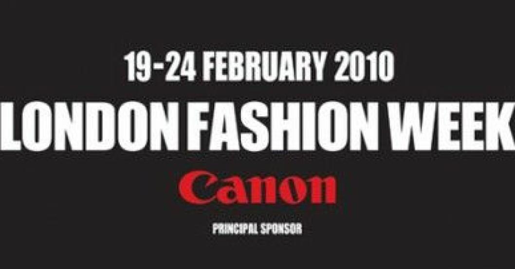 Canon är Principal Sponsor för London Fashion Week.